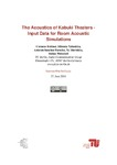 Acoustics of Kabuki Theaters - Input Data for Room Acoustics Simulation.pdf.jpg